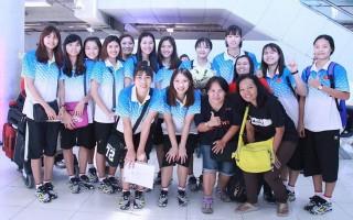 Đội tuyển U23 nữ Việt Nam đã có mặt tại Thái Lan