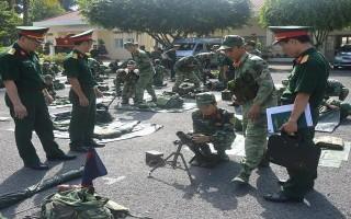 Bộ Tổng Tham mưu kiểm tra công tác quân sự địa phương tại Tây Ninh