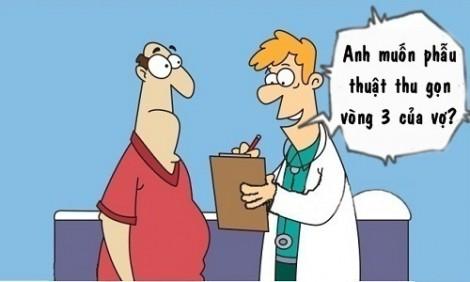 Chồng phẫu thuật vì vợ quá nóng bỏng