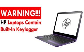 Máy tính HP của bạn có thể đang âm thầm ghi lại mọi thứ bạn gõ trên bàn phím