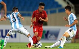 U22 Việt Nam thua trắng 5 bàn trước U20 Argentina