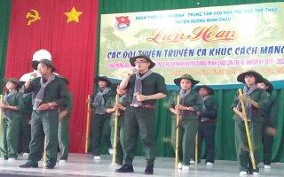 Liên hoan các đội tuyên truyền ca khúc cách mạng huyện Dương Minh Châu