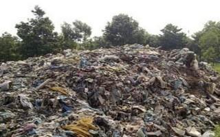 Bãi rác khổng lồ gây ô nhiễm môi trường