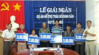Huyện Dương Minh Châu: Giải ngân dự án hỗ trợ vốn cho hộ nghèo