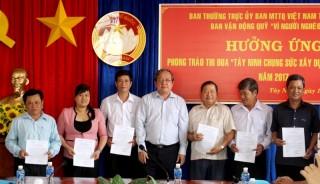 6 tháng, Tây Ninh tiếp nhận trên 10,7 tỷ đồng đóng góp vào quỹ Vì người nghèo