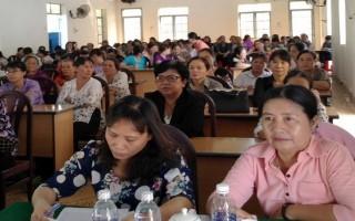 CLB Phụ nữ trí thức huyện Dương Minh Châu: Tổ chức sinh hoạt chuyên đề về Chủ tịch Hồ Chí Minh
