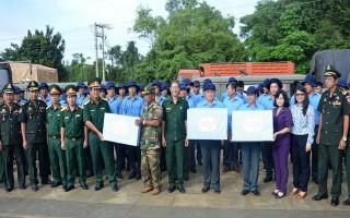Hồi hương hài cốt liệt sĩ quân tình nguyện Việt Nam về nước