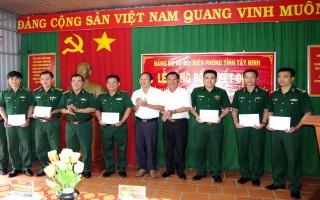 Công bố quyết định thành lập Đảng bộ Đồn biên phòng Tân Hà
