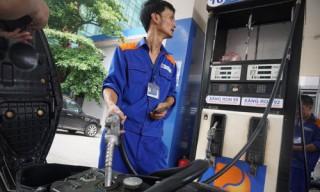 Giá xăng, dầu giảm từ 15h