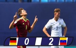 Thua U20 Velezuela, U20 Đức không cho thấy tư cách ứng viên vô địch