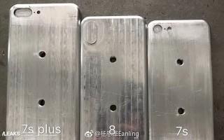 Lộ diện khuôn đúc của iPhone 8, iPhone 7s và iPhone 7s Plus