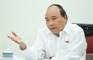 Thủ tướng họp về kịch bản tăng trưởng GDP năm 2017