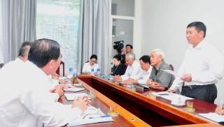 Kiểm tra kết quả thực hiện nhiệm vụ UBND tỉnh giao tại Sở Ngoại vụ