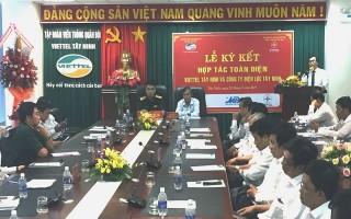 Viettel Tây Ninh và Công ty Điện lực Tây Ninh ký kết hợp tác toàn diện