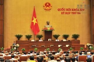 Quốc hội thảo luận dự thảo Luật sửa đổi, bổ sung một số điều của Bộ luật hình sự số 100/2015/QH13