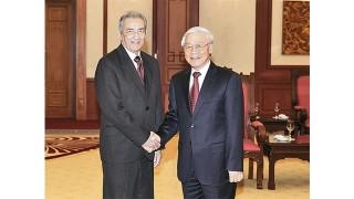 Tổng Bí thư Nguyễn Phú Trọng tiếp Đoàn đại biểu Đảng Cộng sản Cu-ba