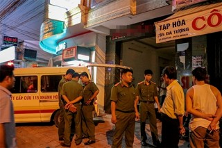 Nổ lớn tại khách sạn 5 tầng ở TP Nha Trang, một người tử vong tại chỗ