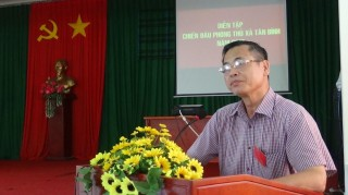 Thành phố Tây Ninh tổ chức diễn tập chiến đấu phòng thủ cấp xã