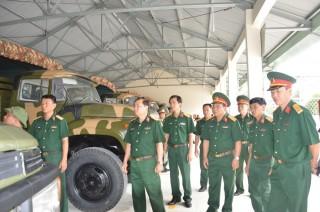 Tổng cục Kỹ thuật kiểm tra công tác kỹ thuật xe-máy tại Sư đoàn 5