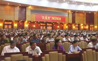 Tổ chức hội nghị tập huấn công tác nhân quyền