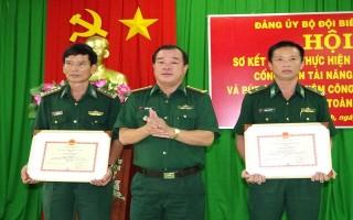 Biên phòng Tây Ninh: Tôn vinh, khen thưởng các gương điển hình tiên tiến