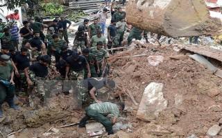 Hàng trăm người thiệt mạng, mất tích do lũ lụt và lở đất tại Sri Lanka