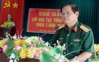 Khai giảng Lớp đào tạo tiếng Khmer