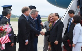 Lễ đón Thủ tướng Nguyễn Xuân Phúc tại Thủ đô Washington, Hoa Kỳ
