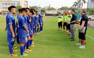 Đội tuyển Việt Nam tập trung chuẩn bị cho Giải bóng đá U15 quốc tế
