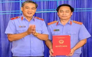 Bổ nhiệm Viện trưởng Viện KSND huyện Hoà Thành
