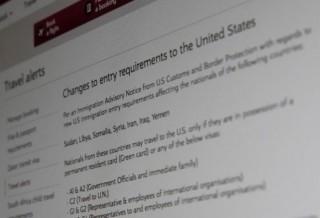Sắc lệnh cấm nhập cảnh chờ Tòa án tối cao Mỹ giải cứu