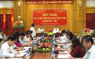 Tây Ninh: Ký kết hợp tác phát triển kinh tế- xã hội với Thành phố Hà Nội