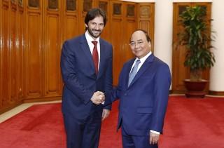 Thủ tướng Nguyễn Xuân Phúc tiếp Phó Thủ tướng, Bộ trưởng Nội vụ Xlô-va-ki-a
