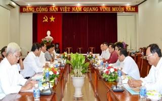 BCĐ thực hiện Đề án 61 Trung ương làm việc tại Tây Ninh