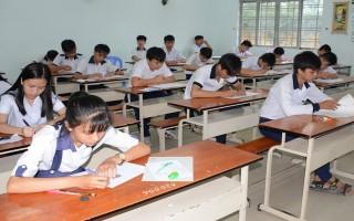 Ngày 10.6 công bố kết quả chấm thi tuyển sinh lớp 10
