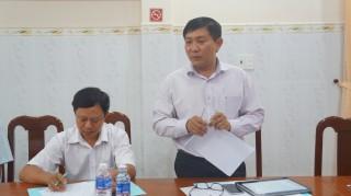 Kiểm tra thực hiện nhiệm vụ của UBND tỉnh tại huyện Bến Cầu