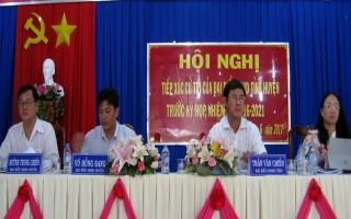 Đại biểu HĐND tỉnh tiếp xúc cử tri trước kỳ họp thứ 4