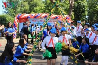 Sôi động trại Hè Thanh thiếu nhi Việt Nam tại Ukraine