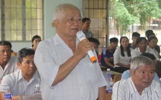 Đại biểu HĐND tỉnh tiếp xúc cử tri địa phương
