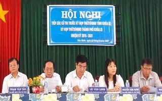 Chủ tịch UBND tỉnh Phạm Văn Tân tiếp xúc cử tri thành phố Tây Ninh