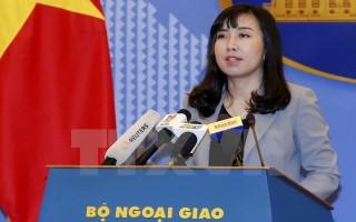 """Việt Nam """"giao thiệp nghiêm khắc"""" về phát biểu của Tổng thống Hàn Quốc"""