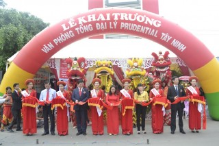 Khai trương mô hình văn phòng Tổng đại lý Prudential Việt Nam theo tiêu chuẩn mới tại Tây Ninh