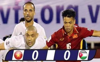 Thủ môn Văn Lâm tỏa sáng, Việt Nam chia điểm với Jordan