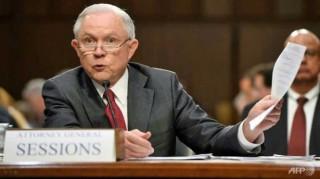 Bộ trưởng Tư pháp Mỹ điều trần trước quốc hội