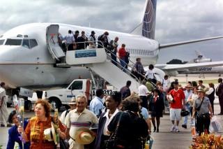 Lượng du khách Mỹ tới Cuba tăng mạnh