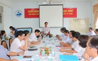 Bộ Y tế kiểm tra việc thực hiện quy tắc ứng xử, quy chế dân chủ tại BVĐK Tây Ninh