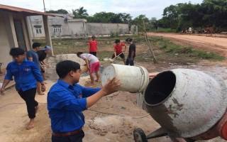 Đem sức trẻ xây dựng quê hương