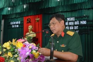Bộ CHQS Tây Ninh: Sơ kết công tác đối ngoại quốc phòng