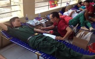 Bến Cầu: Tiếp nhận hơn 280 đơn vị máu hiến