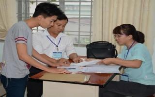 Thí sinh đã hoàn tất thủ tục dự thi THPT quốc gia